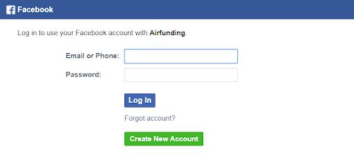 Gunakan pengesahan FB